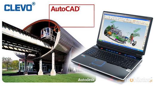 clevo sager 8180 P180HM mobilator laptop najmocniejszy na świecie dystrybutor umpc projektowanie auto cad 3d max autodesk cad