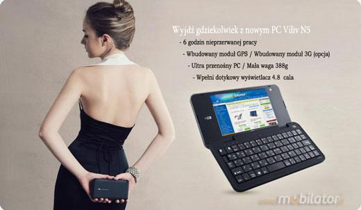 Viliv N5 MID UMPC Mobilator