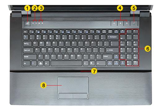 clevo B7110 notebook