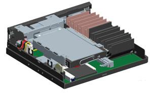 MiniPC Przemysłowy AOpen DE3100 Intel Atom D2250 1,86GHz  128 GB SSD SATA III