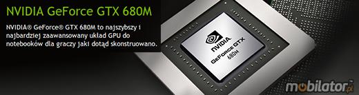 Clevo P370EM nVidia GeForce GTX 680M