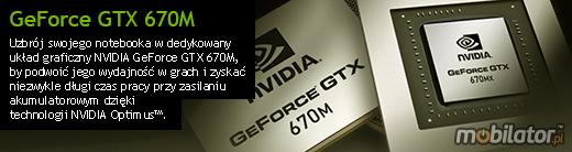 Clevo P370EM nVidia GeForce GTX 670M