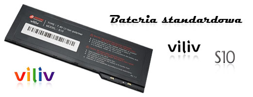 battery viliv S10 blate bateria accessory